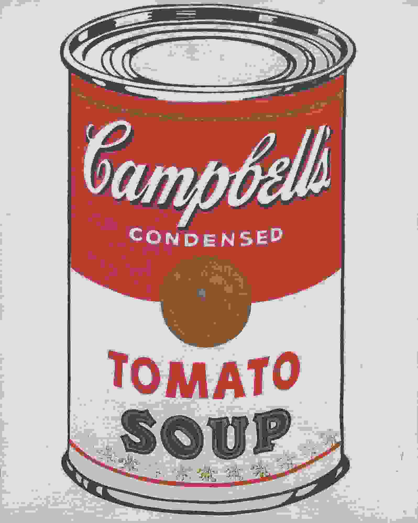 Warhol's Campbell's soup can | Source: moma.org