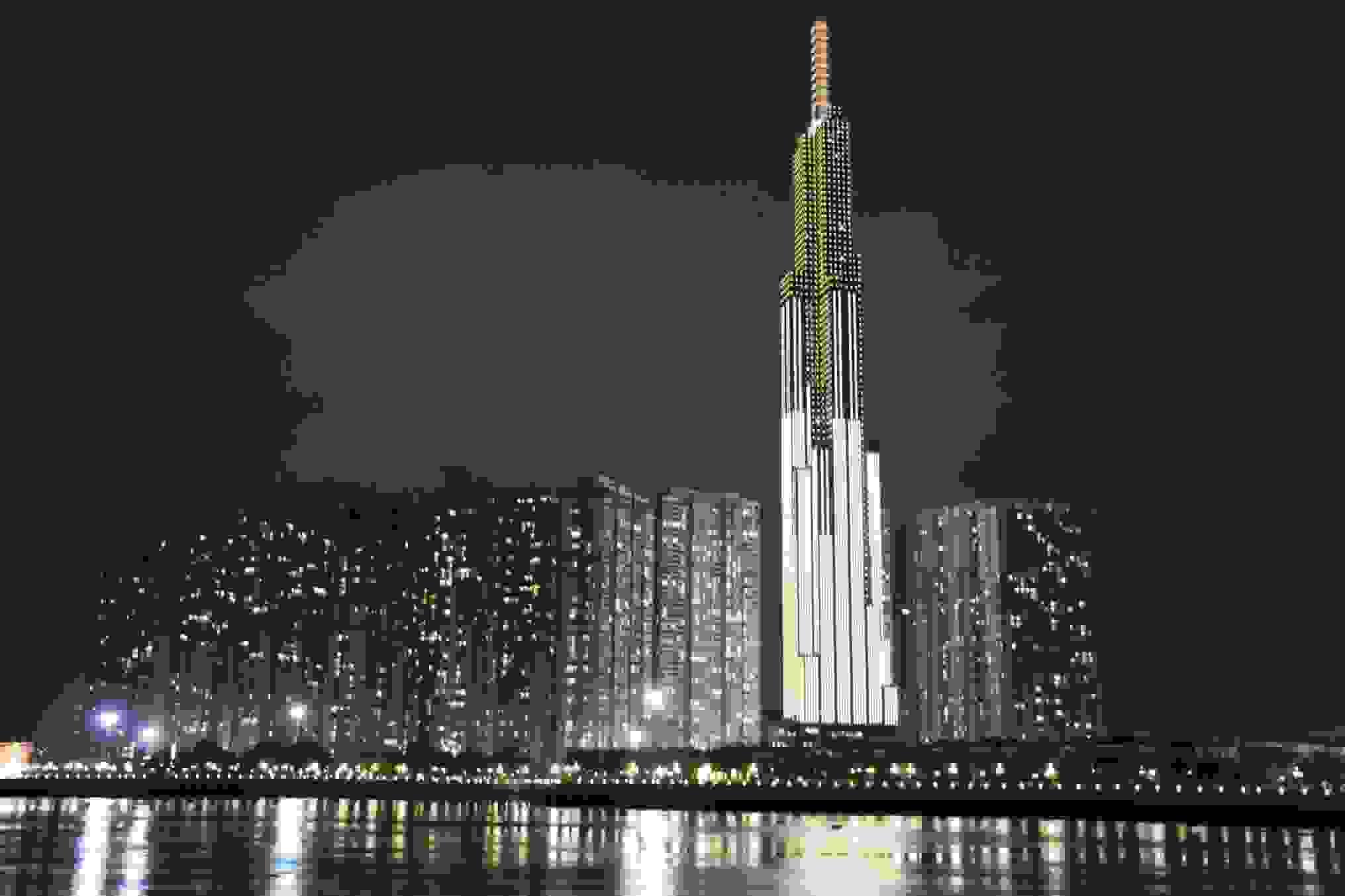 Southeast Asia's tallest tower, Landmark 81 in Vietnam