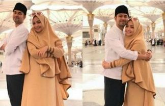 Gamis Sarta Hijab Kelir Cokelat Anom
