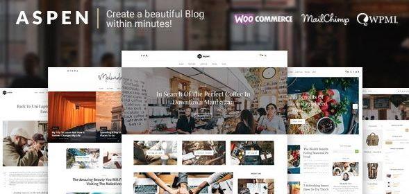 Download Aspen - WordPress Blog Theme