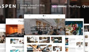 Download Aspen - WordPress Blog Theme
