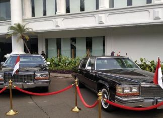 HUT RI Mobil Presiden Era Soeharto Dipajang di Istana Negara