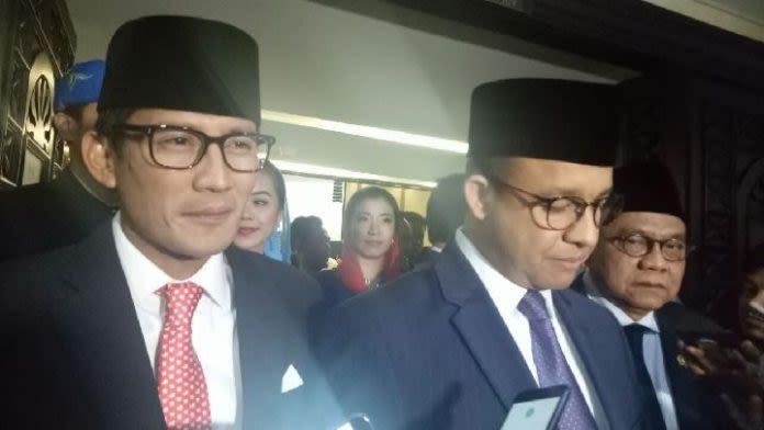 Anies Blak-Blakan Soal Sandiaga Uno Sarta Cawapres Prabowo