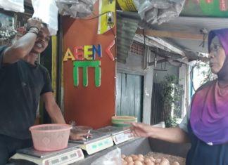 Pangaos Endog Naek Padagang Sarta Pembeli Di Depok Ieu Sami-Sami Lieur