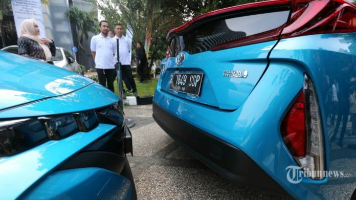 Ratusan Taksi Kendaraan Beroda Empat Listrik Beroperasi Selama Asian Games 2018