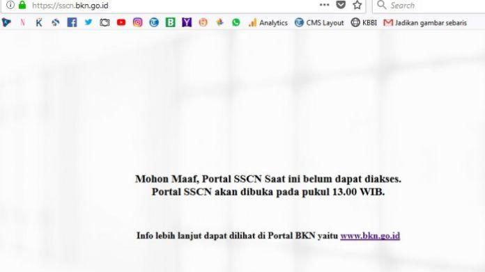 Link sscn Sesah Diakses Kumaha Nasib Pendaftaran CPNS 2018