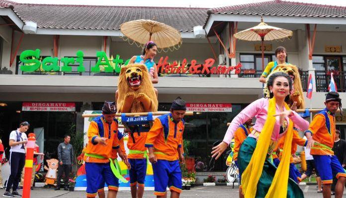 Atlit Asian Games Di Subang Disuguhan Jaipong Sarta Sisingaan