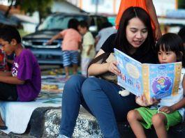 Hari Aksara Internasional Bantos Kurangi Buta Aksara