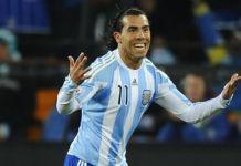 Tevez Tak Masuk Skuat Argentina