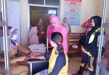 Bhayangkari Majalengka Gelar Tes IVA Sarta Sadanis