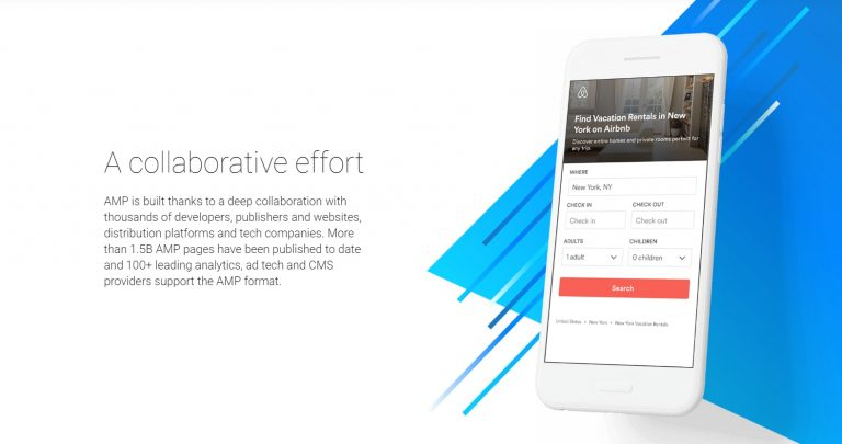 sample website amp