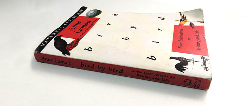 "Cover of ""bird by bird"" by Anne Lamott"