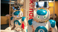 NAO with head rack and tablet holder by 3d-prototyp GmbH