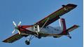 Pilatus PC-6: a model airplane made of aluminium