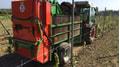 Der neue Fischer Kompoststreuer für den Weinbau