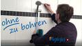 Aglaja Duschsysteme: Kleben statt bohren