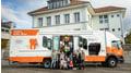 """Die """"rollende Prävention"""": elmex® Info-Bus"""
