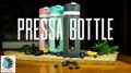 Trinkflasche mit integrierter Fruchtpresse