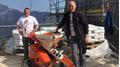 Das PFT Team vor Ort: Steffen Fischer (Außendienst) und Franz Behringer (Anwendungstechnik)