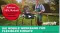 Wolfcraft Werkbank MASTER work 1600