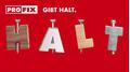 HALT! Entdecken Sie die Neuprodukte der PROFIX AG