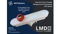 End of Arm Tool (EoAT) als Greifer aus TPU für leichte und poröse Oberflächen. Geglättet Transluzent