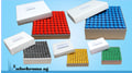 High quality, recyclable sleeve box with grid divider for 100 Vials, suitable for freezing.