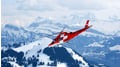 Helicopter over Central Switzerland