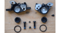 Traditional Brake Caliper with 11 Components