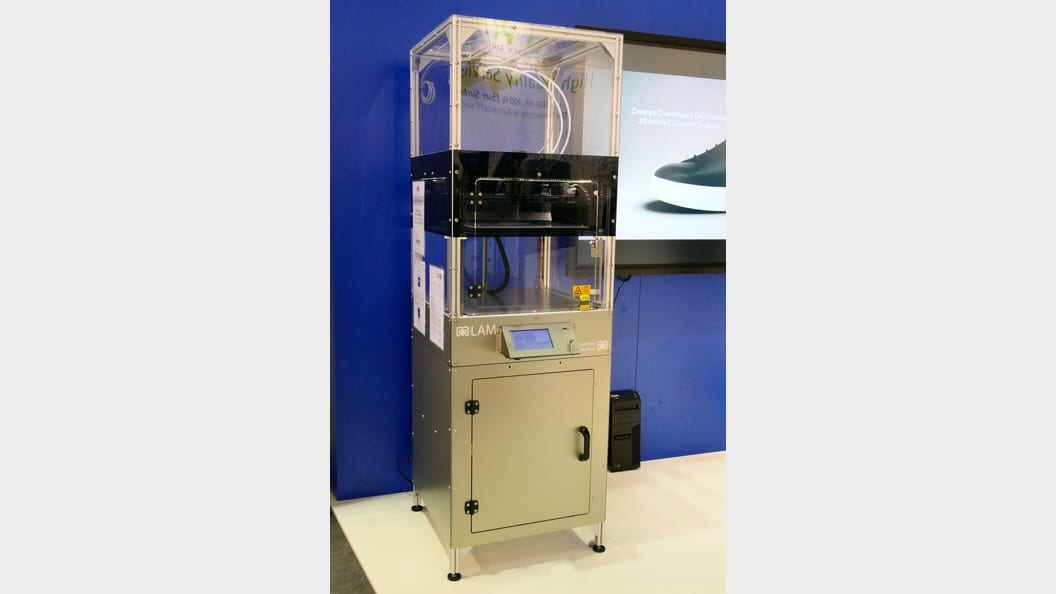 German RepRap LAM 3D printer