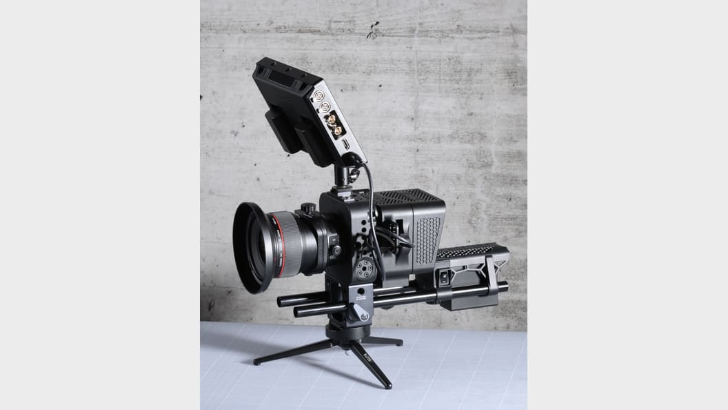 High-end video camera for Hasselblad H6D-100c digital back ©ALPA Capaul & Weber AG