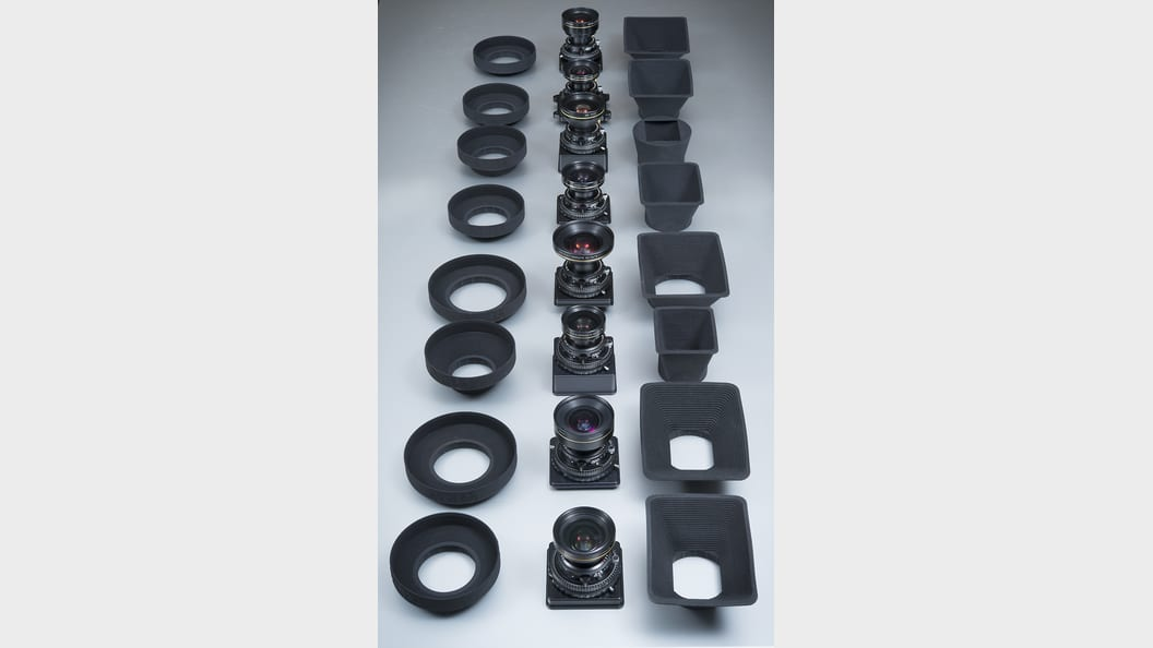 Customized lens shades for high-end cameras ©ALPA Capaul & Weber AG