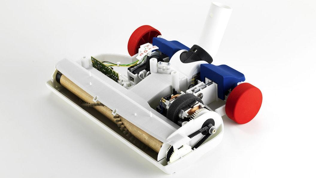 Functional prototype of vacuum cleaner
