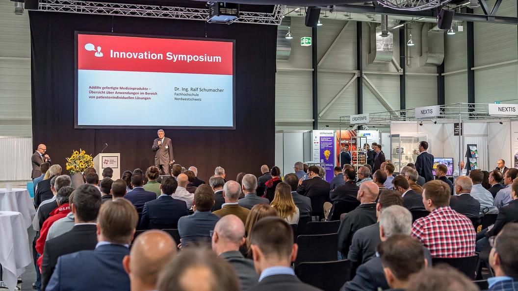 Anregungen erhielten die Fachbesuchenden auch an den Vorträgen im Innovation Symposium.