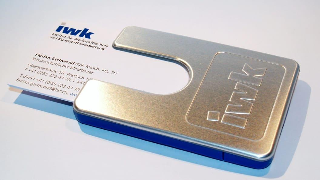 Spritzgiesssonderverfahren Metallfolienhinterspritzen