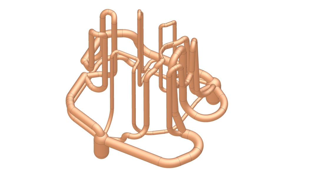 Conformal cooling channels, designed and produced by BSF Bünter AG