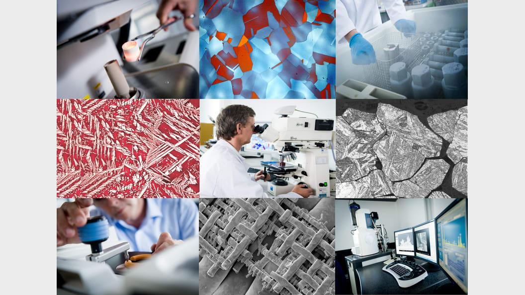 """Unsere Gruppe """"Schaden- und Werkstoffanalytik"""" verfügt über eines der grössten Labors in der Schweiz"""