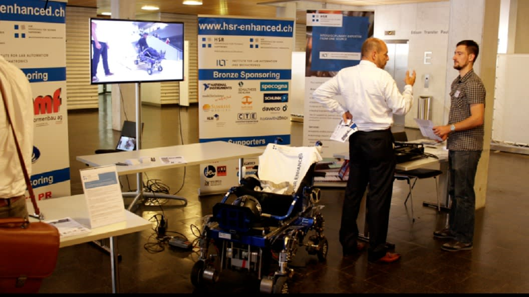 Impressions from Swiss Mechatronics Day 2017.