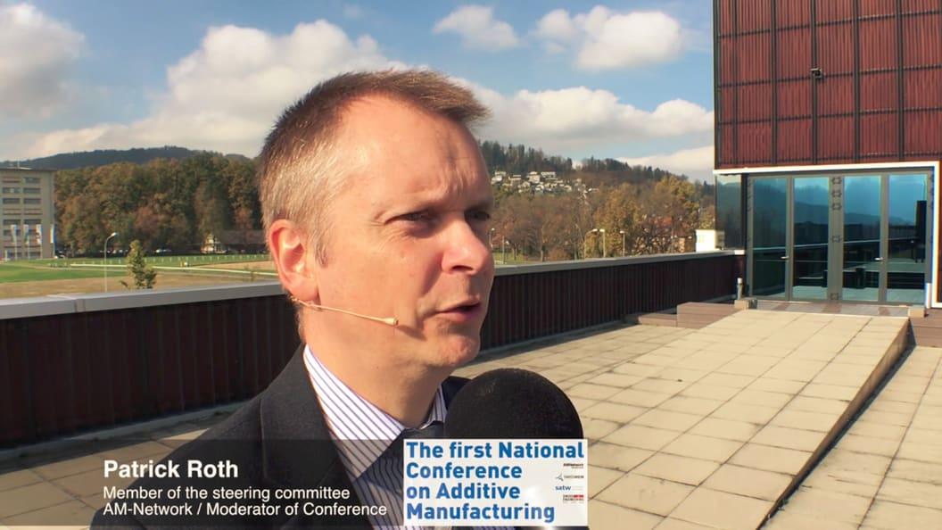 Patrick Roth, Vorstandsmitglied vom AM-Network, hat die erste AM Konferenz moderiert.