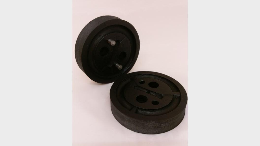 FDM-printed PEEK molds ... ©Fabru GmbH