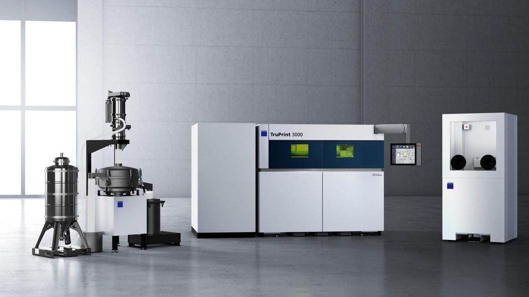 TruPrint 3000 - Die universelle Mittelformatmaschine für die industrielle Fertigung