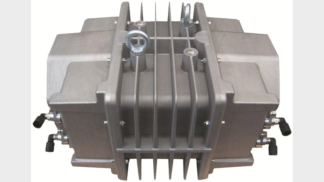... verschiedene Komponenten für 3D-Metall-Drucker.