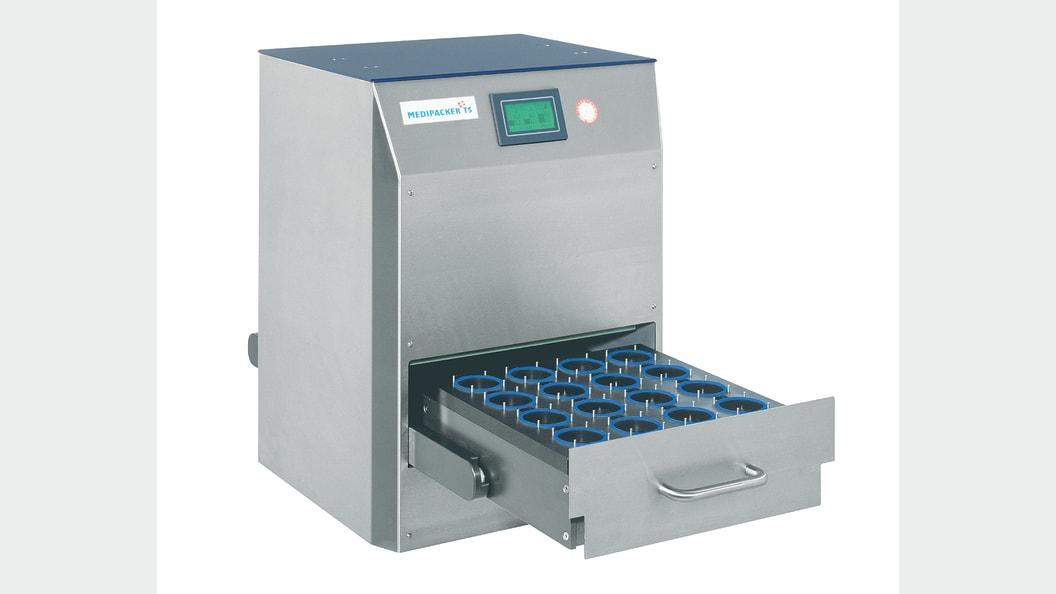 MEDIPACKER Typ TS for heat-sealing