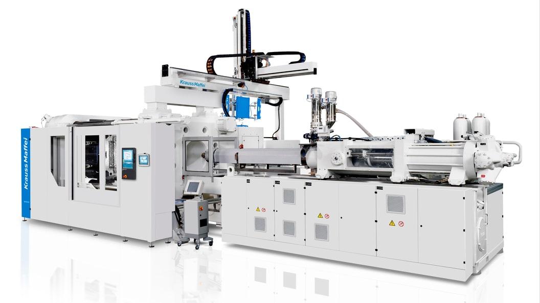 Auf einer MX 2300 von KraussMaffei produziert NIFCO KTW Radschalen aus Recyclingmaterial.