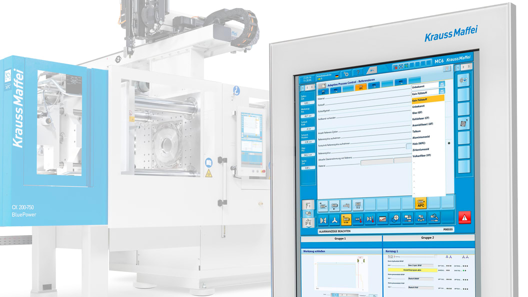 APC plus features many intelligent features that make injection molding significantely more stable.