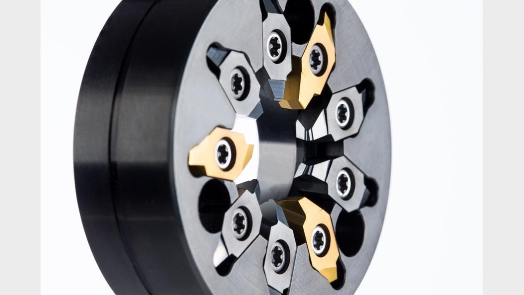 Turbowirbeln® mit dem neunschneidigen Wirbelwerkzeug von Horn