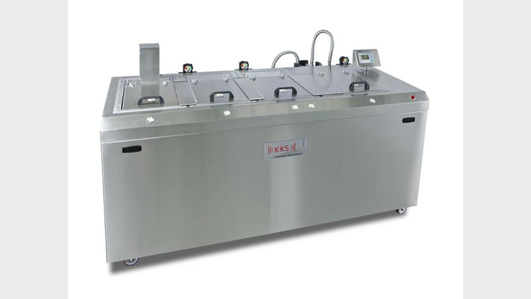 "Compact Multi-Chamber Cleaning-Units ""Cell-Cleaning Unit"""