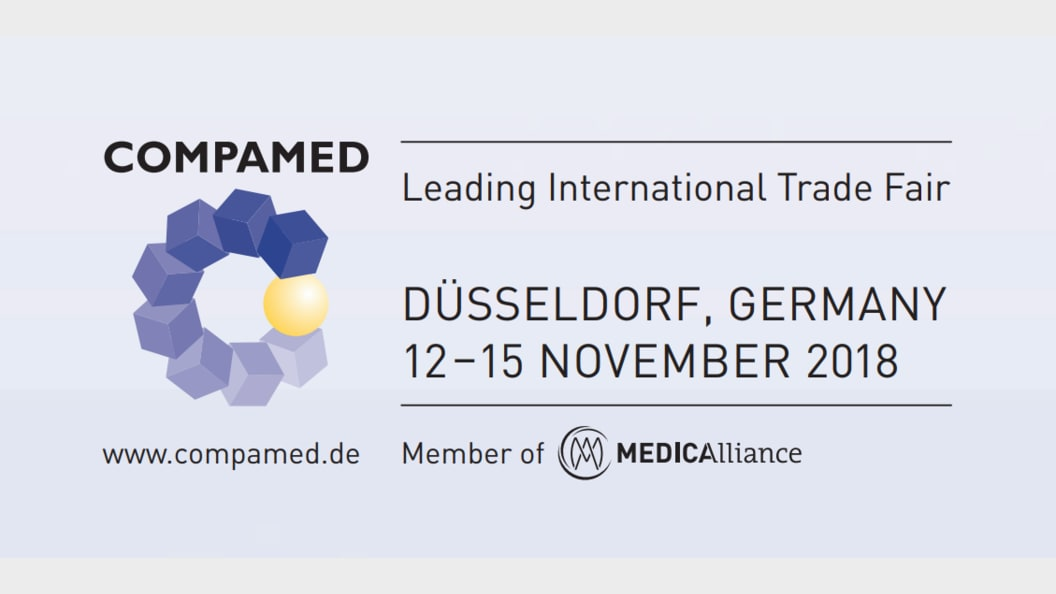 At COMPAMED, the latest solutions and offers can be looked at in the centre of the exhibitors