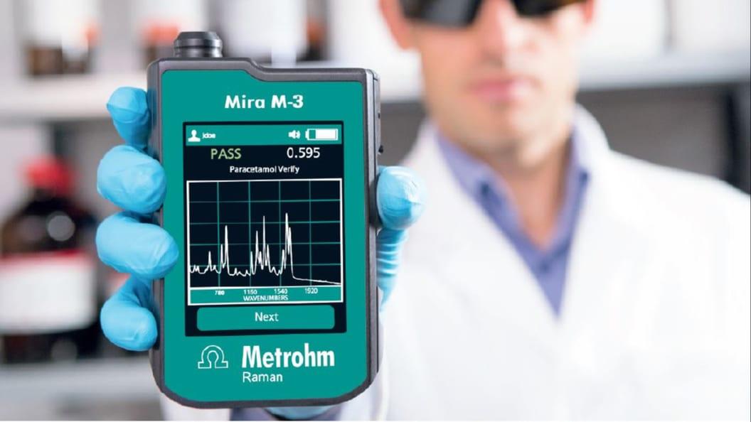 Mira M-3 tragbares Raman Spektrometer