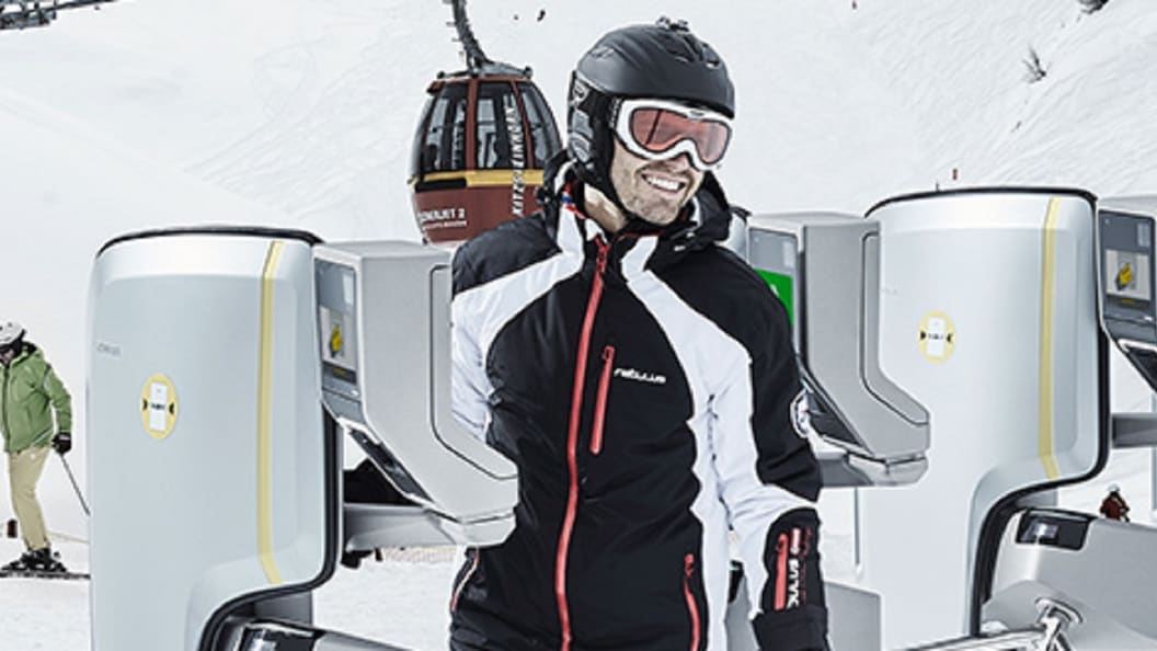 SKIDATA Flex.Gate: meeting the requirements on the slope.